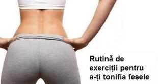 exercitii pentru fese