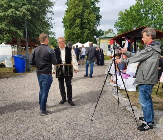 Arboga Medeltid på TV