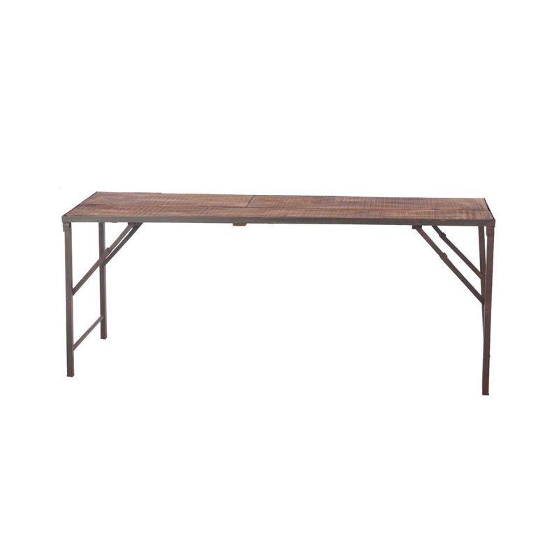 table pliante vintage l1m70