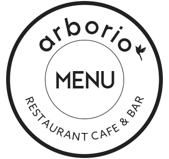 Arborio Menu