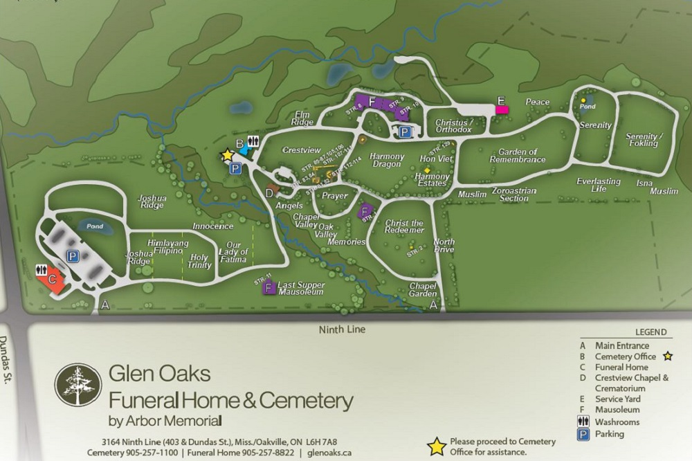 Cemetery And Mausoleum In Oakville And Mississauga On