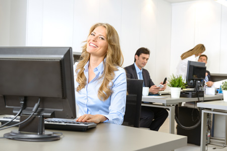 Speciale bewustzijnstraining gezond kantoorpersoneel