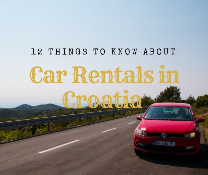 12 Things To Know When Renting A Car In Croatia   ArboursAbroad Croatian Rental Cars  Renting a car in Croatia  Croatia  rental cars   arboursabroad