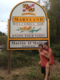 Maryland, arboursabroad, state sign