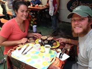 Curanto, Niebla, Chile, arboursabroad, feria