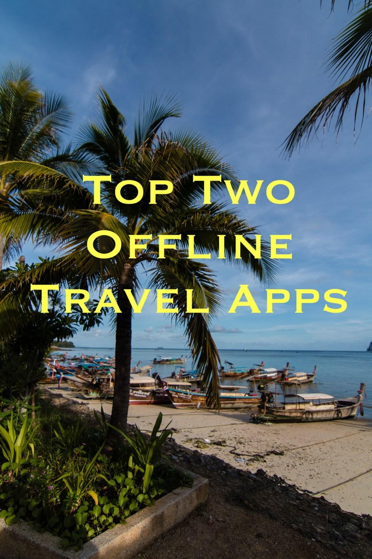 offline travel apps, arboursabroad, maps.me, wikitriips