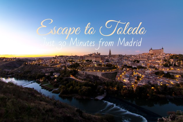 travel itinerary, night photography, skyline, El Toledo, Day trip from Madrid, arboursabroad