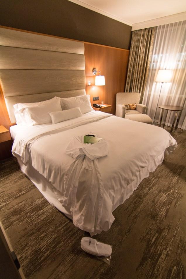 hotel, bed, Westin, Warsaw, Poland, Westin Warsaw, arboursabroad