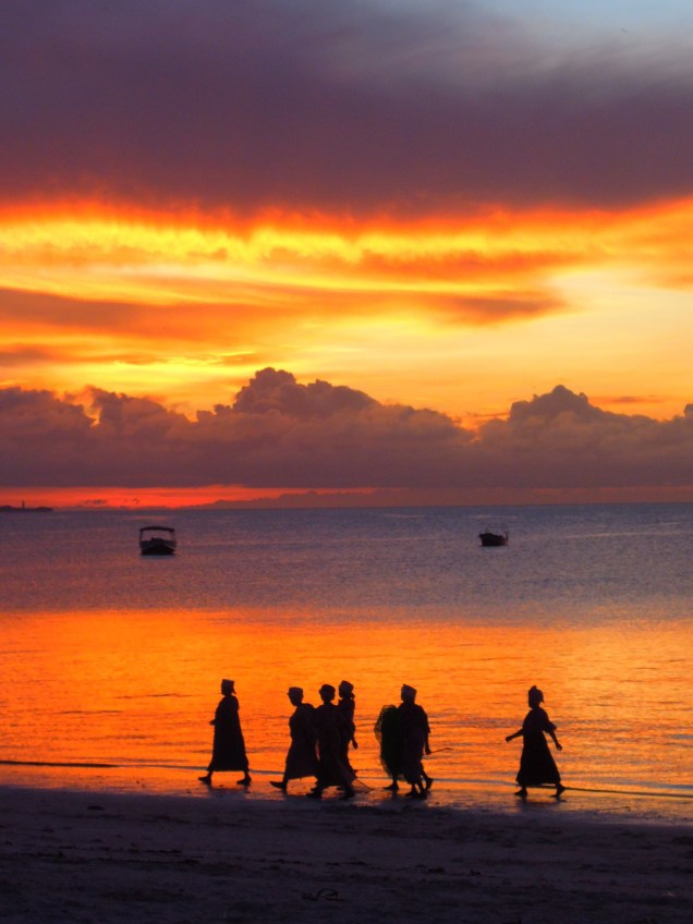 Zanzibar, Tanzania, sunset, arboursabroad, silhouette