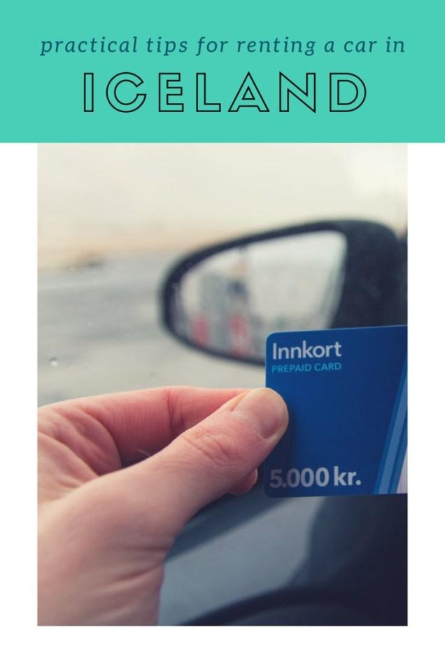 rental car, renting a car in Iceland, Iceland, gas card, arboursabroad