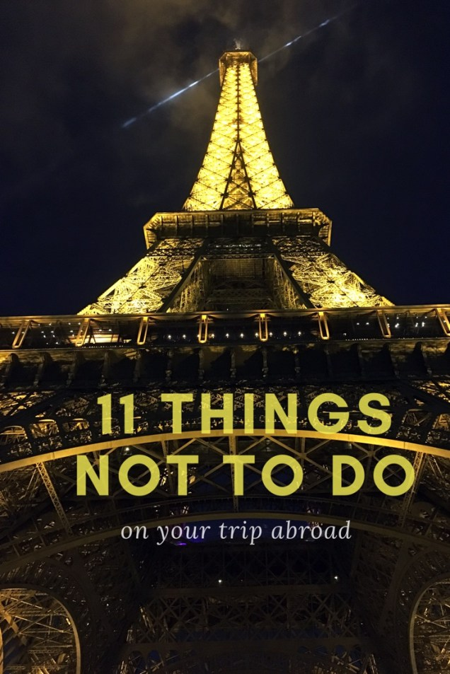 travel advice, avoid, things not to do while traveling, arboursabroad