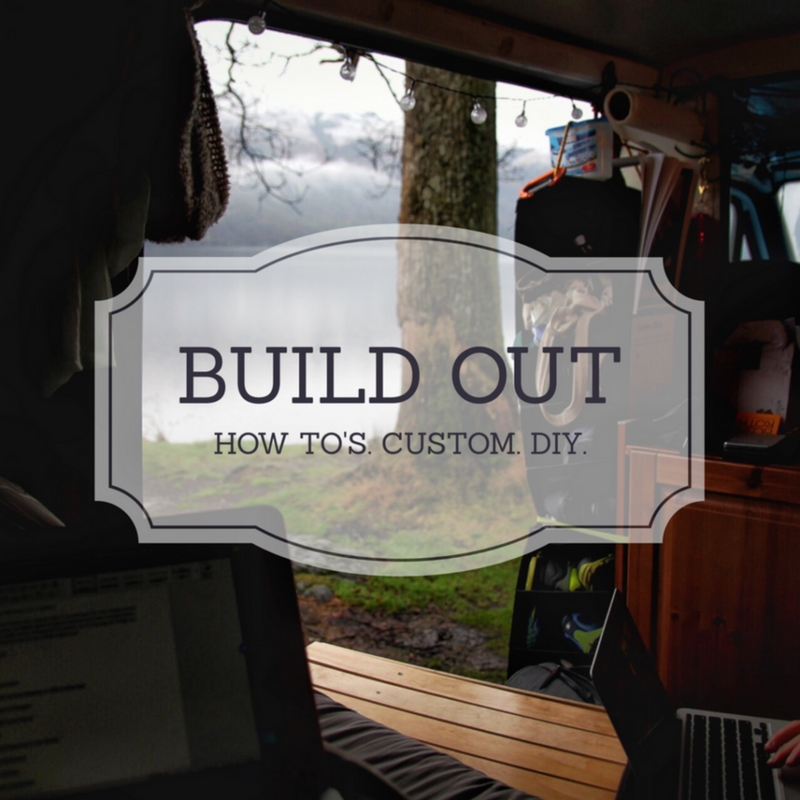 vanlife, van buildout, campervan, vantrails