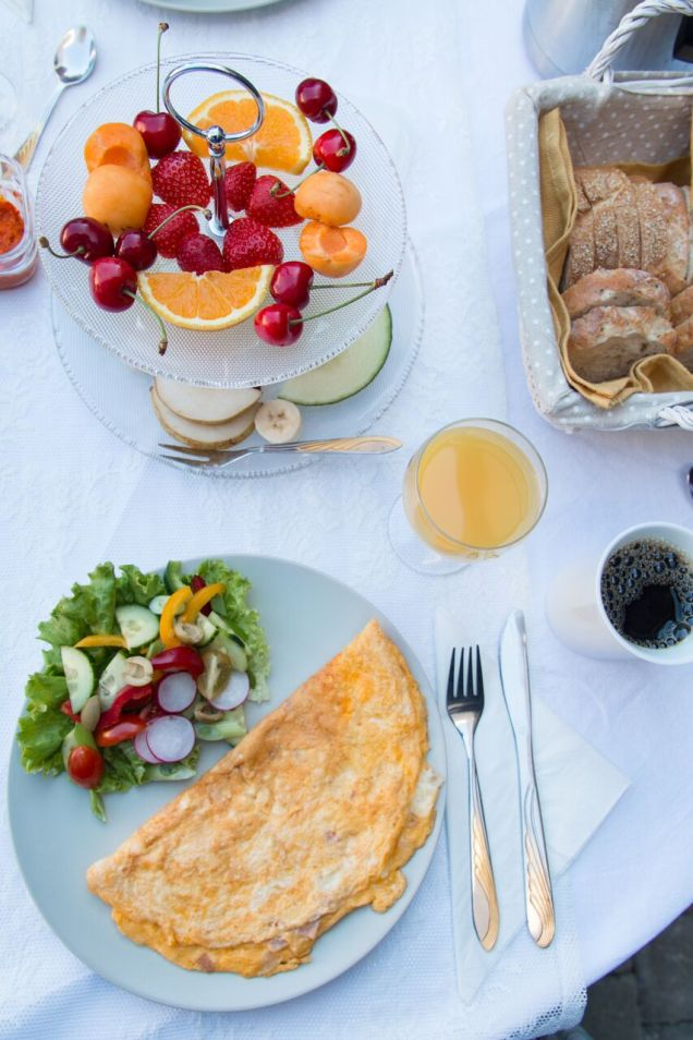 breakfast, Zadar, Villa Diana, accommodation with breakfast, arboursabroad