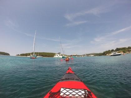 Adriatic Sea, Hvar, Croatia, arboursabroad, &Adventure, sea kayaking in Hvar