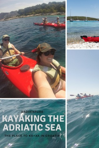 sea kayaking, croatia, Hvar, &Adventure, arboursabroad, sea kayaking in Croatia, where to sea kayak in Croatia