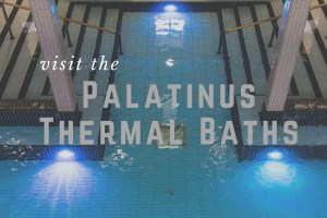 Palatinus Baths | A Well Known Place to Visit in the Summer, but Quiet in the Winter