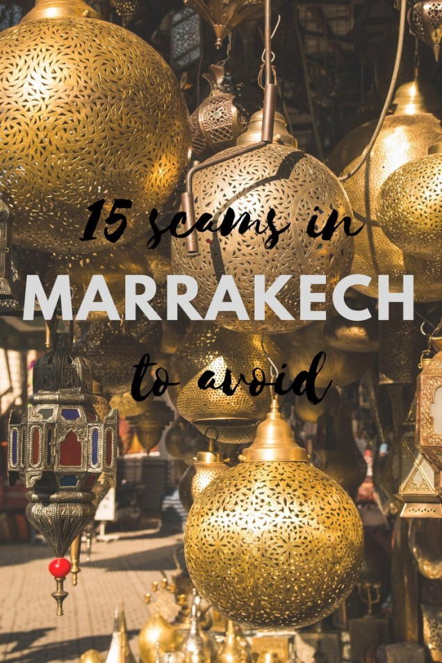 Marrakech scams, Morocco, scams in Marrakech, how to avoid the scams, arboursabroad