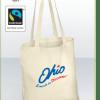 Sac écologique totebag coton bio shopping 100% coton équitable et biologique certifié Fairtrade