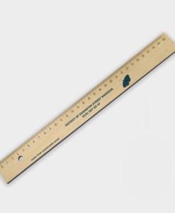 Règle en bois certifié durable ARBRE A BULLES