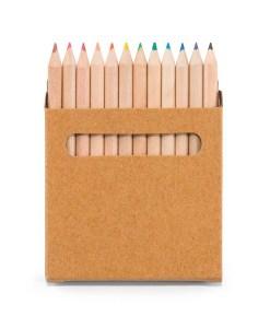 Set de 12 crayons de couleurs en bois
