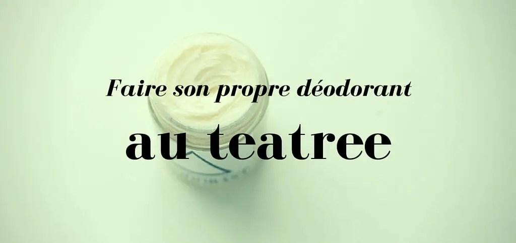 déodorant au tea-tree
