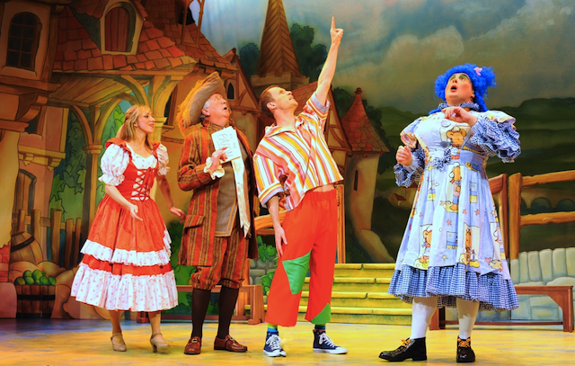 Image result for Pantomime pictures on stage