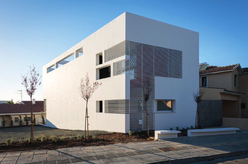 House in half plot in Engomi
