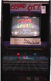 Crime City Videogame By Taito