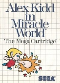 7 - Alex Kidd in Miracle World Master System Game Cover Image