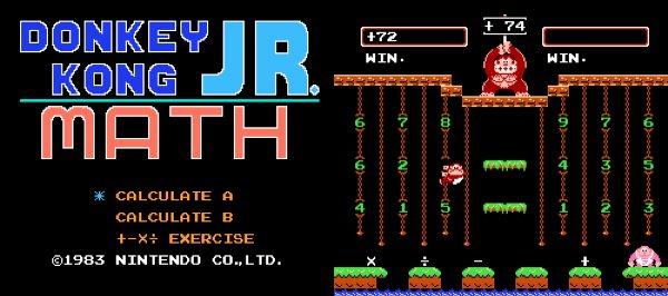 Donkey Kong Jr  Math (NES Review) - Arcade Attack