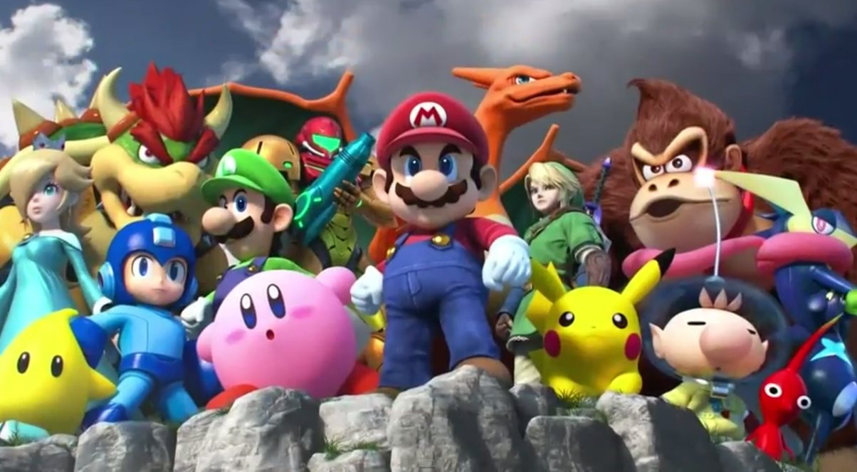 Image result for smash bros 4 official art