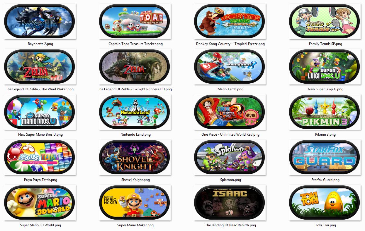 Wii U CEmu Working Games Wheel Art Arcade Punks