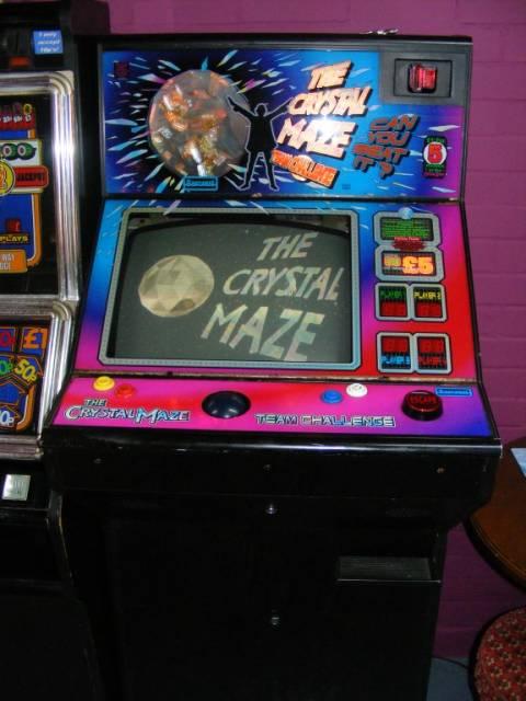 Crystal Maze JPM Aladdin Arcade Punks