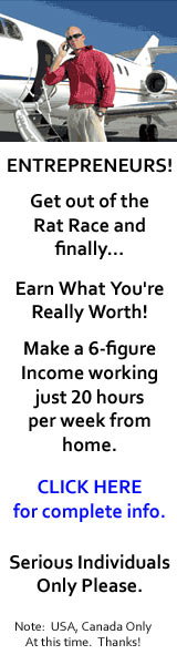 ENTRPRENEURS! Get out of the Rat Race and finally - Earn what you're really worth. Click to continue.