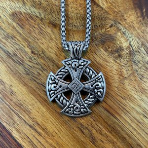 Irish Cross Necklace