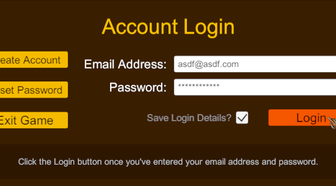 Login panel interface now using custom backend