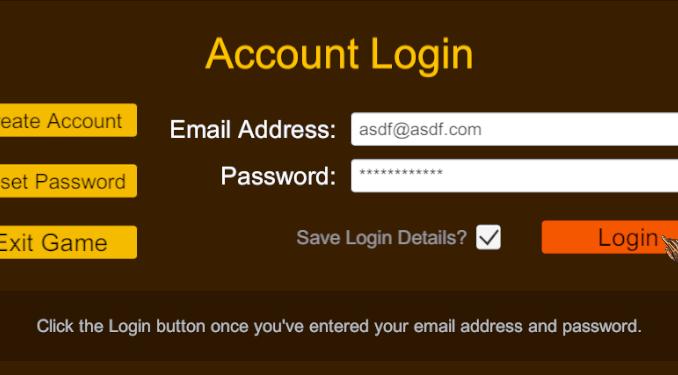 Login panel interface now using custom backend