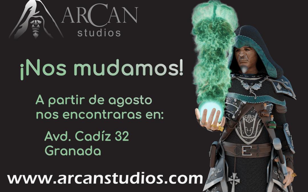 Arcan Studios cambia de ubicación
