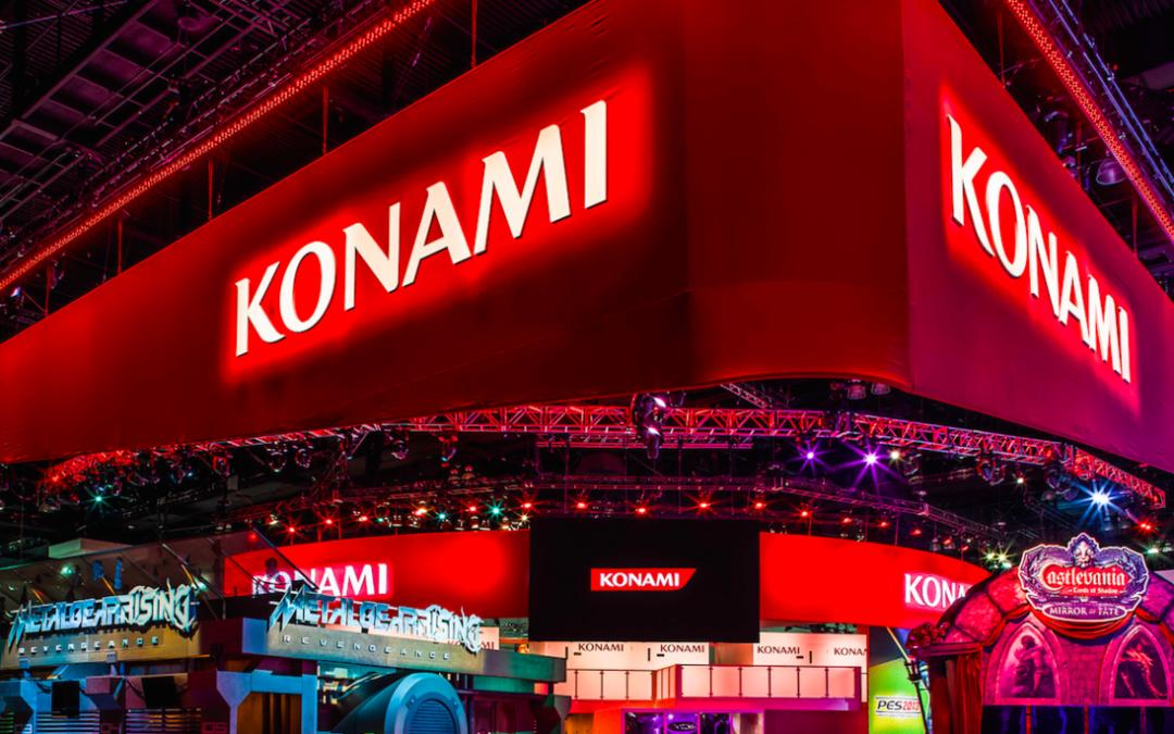 Konami inicia un programa para publicar videojuegos de terceros y ampliar su catálogo