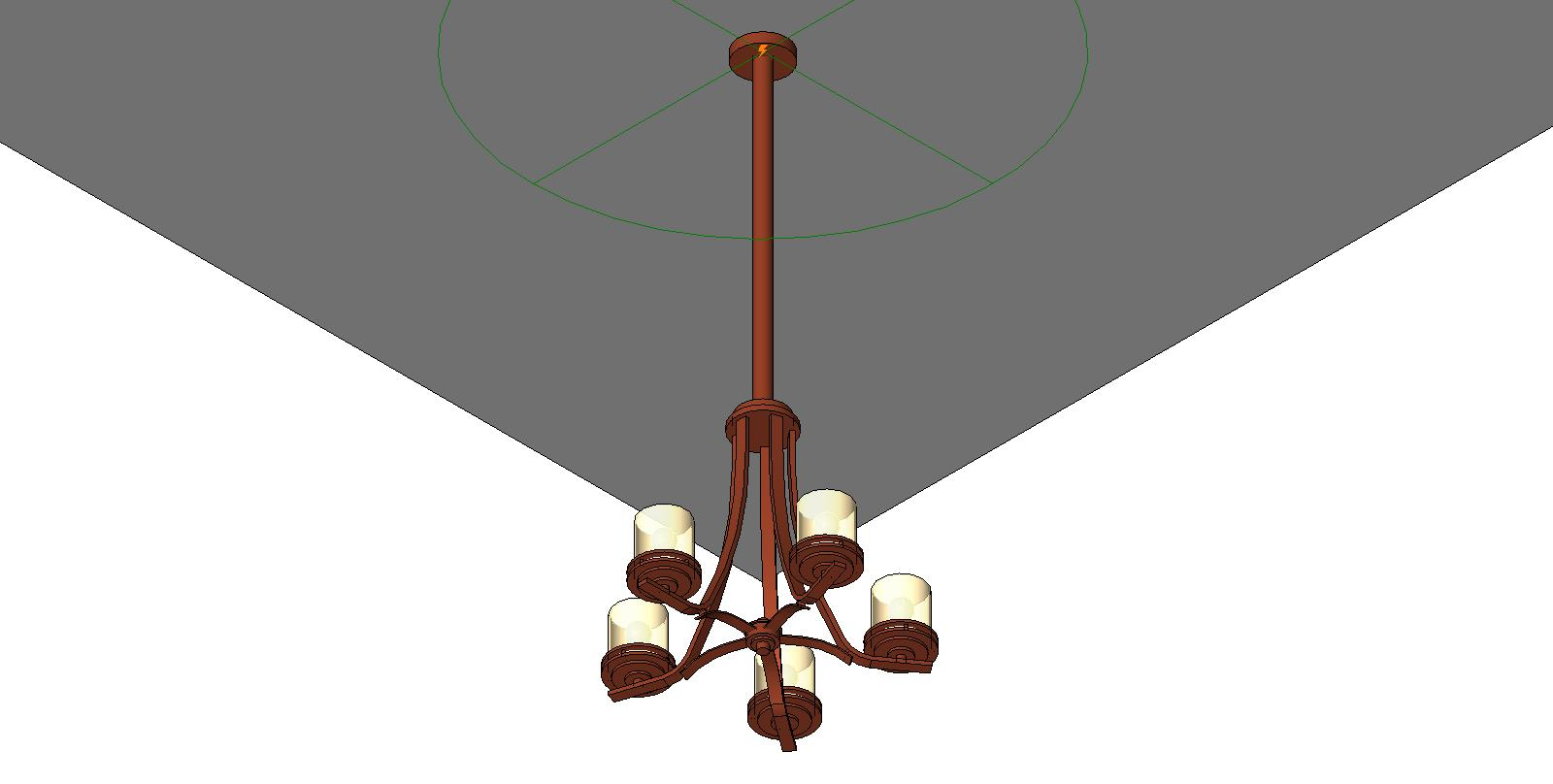 Revit Pendant Light Fixtures