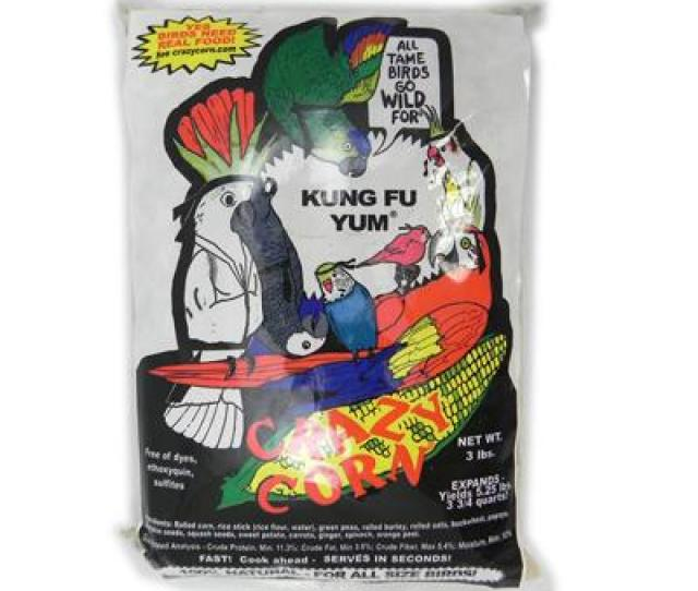 Crazy Corn Kung Fu Yum  Pound Discontinued