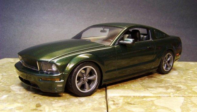 125 Revell Mustang Bullitt By Albert Moore
