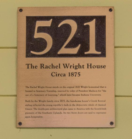 Rachel Wright House