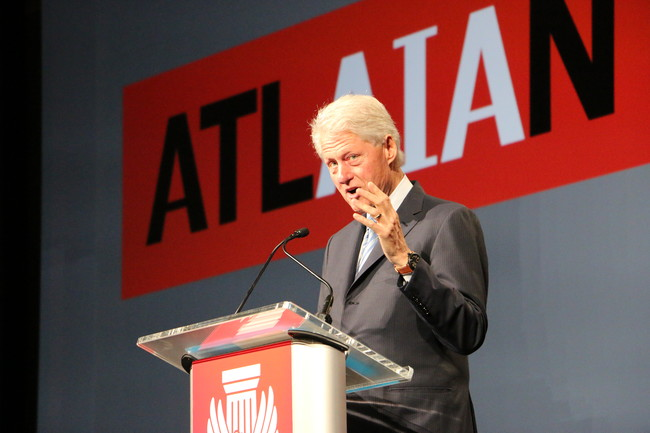 Clinton Presenting to the AIA