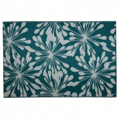 tapis eco 180x120 coloris eclat vert 100 polypropylene recycle 300gr m2 a usage exterieur