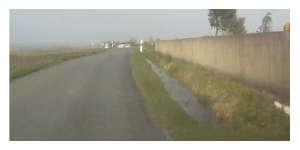 Fossés et chaussées de la commune sont inondés