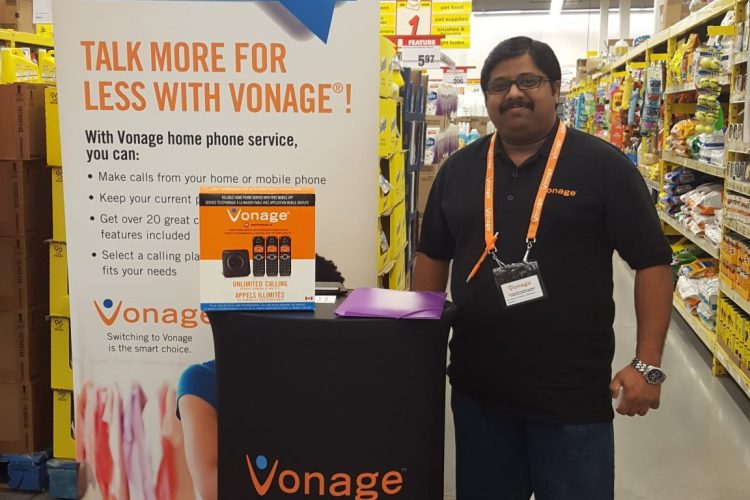 Vonage – Retail Accelerated Sales Campaign