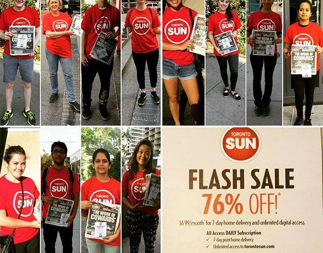 Case Studies: PostMedia – National Post & Toronto Sun – Street Sampling