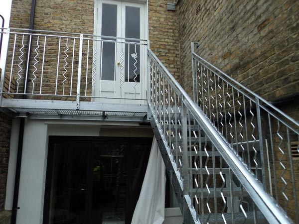 Outdoor Steel Staircase London Archives Arc Fabrications   Metal Staircases And Balconies