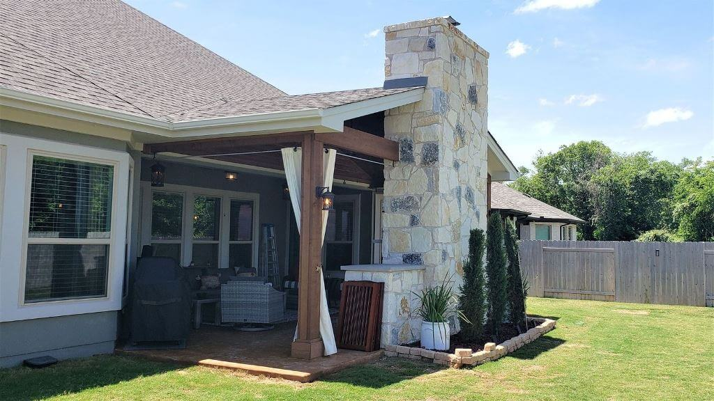 round rock tx covered patio